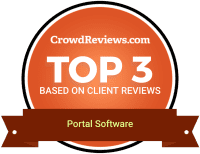 CrowdReviews Top 3 Portal Software