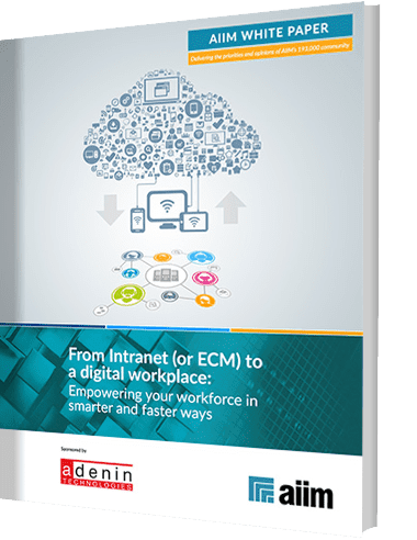 From Intranet to Digital Workplace Whitepaper