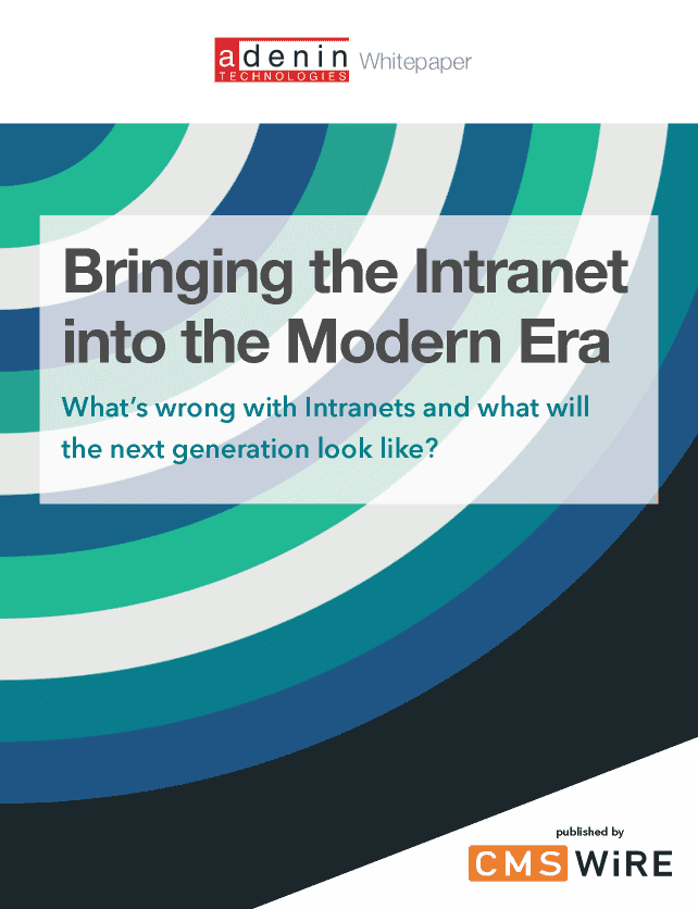 Bringing the Intranet into the Modern Era Whitepaper