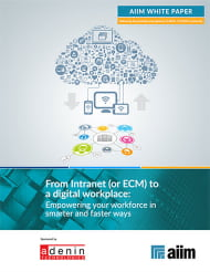 From Intranet (or ECM) to a digital workplace
