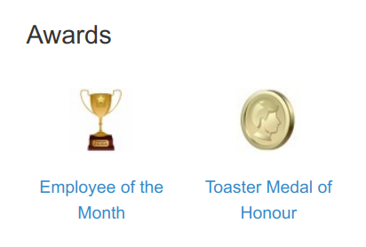 Social Intranet Awards and Recognitions