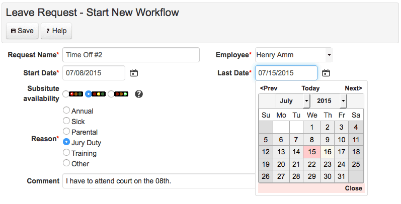 Webform Workflows