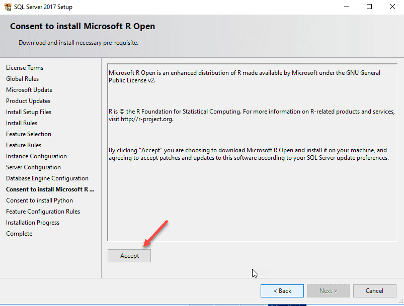 SQL Server Installation Service Accounts selection