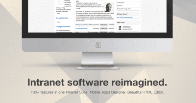 adenin IntelliEnterprise Release 14: Responsive Design HTML Editor, New Design & more…