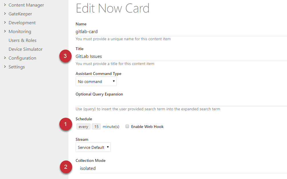 The three alterations we need to make to the Card's metadata