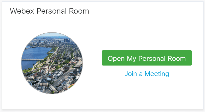 Webex Personal Room