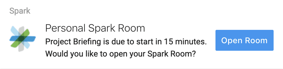 Personal Spark Room