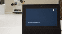 Echo Show device running the Digital Assistant skill