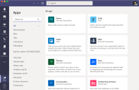 Microsoft Teams apps add extra functionality to Teams