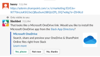 Slack document preview prompt for docs shared from SharePoint